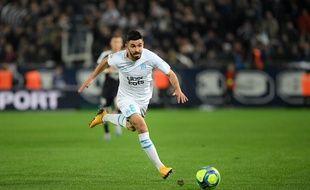 Le Marseillais Morgan Sanson lors du match contre Bordeaux au Matmut Atlantique, le 2 février 2020.