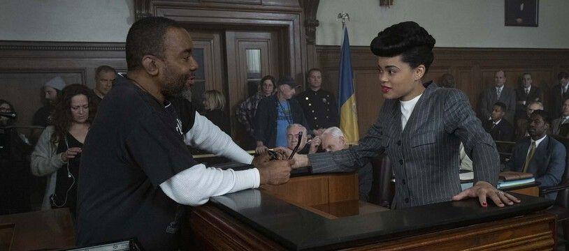 Lee Daniels dirige Andra  Day dans «Billie Holiday, une affaire d'état»