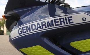 Une moto de la gendarmerie nationale (Illustration)