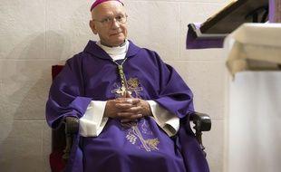 L'évêque de Nice, André Marceau. (archives)