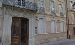 L'hôtel Fabrégat, qui abrite le musée des beaux-arts, où a eu lieu le vol.