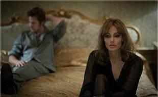 Brad Pitt et Angelina Jolie dans le film «Vue sur mer».