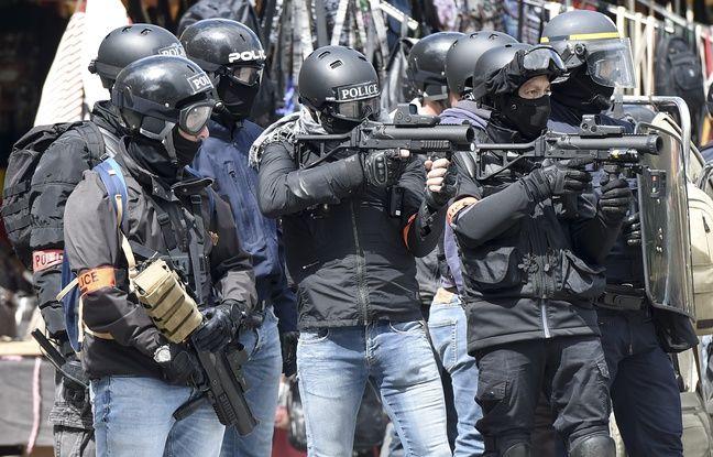 Nantes: Les forces de l'ordre sortent leur arme à feu face un automobiliste, une enquête ouverte