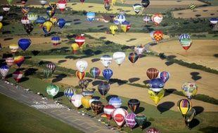 Plusieurs centaines de montgolfières s'élanceront dans le ciel de Lorraine à partir de vendredi jusqu'au 4 août, à l'occasion d'un des plus grands rassemblements du genre dans le monde.
