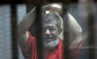 L'ancien président égyptien Mohamed Morsi le 7 mai 2016 au Caire