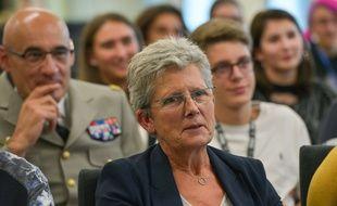 La secrétaire d'Etat auprès de la ministre des Armées, Geneviève Darrieussecq, le 14 septembre 2019.