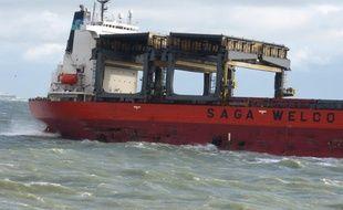 Le «Saga Sky», navire de la compagnie Saga Welco