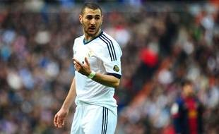 Karim Benzema, le 2 mars 2013 à Madrid.