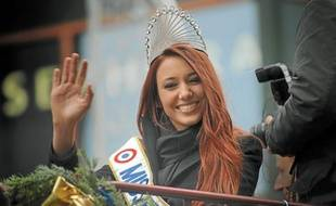 Le 18 décembre, deux semaines après son élection, Delphine Wespiser était venue visiter le marché de Noël.