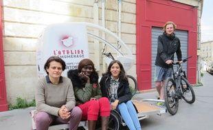 L'Atelier Remuménage se lance dans le déménagement à vélo