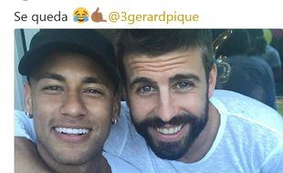 Neymar et Piqué