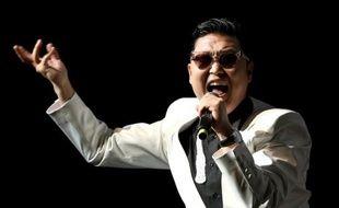 Le chanteur coréen Psy, en 2012.