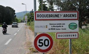 Roquebrune-sur-Argens, dans le Var.