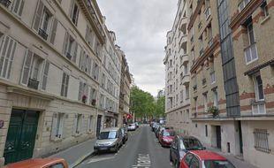 La rue Chanez, où ont été découvertes les bonbonnes