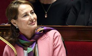 Ségolène Royal à l'Assemblée nationale, le 24 janvier 2017.