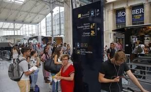 La gare du Nord à Paris. (Illustration)