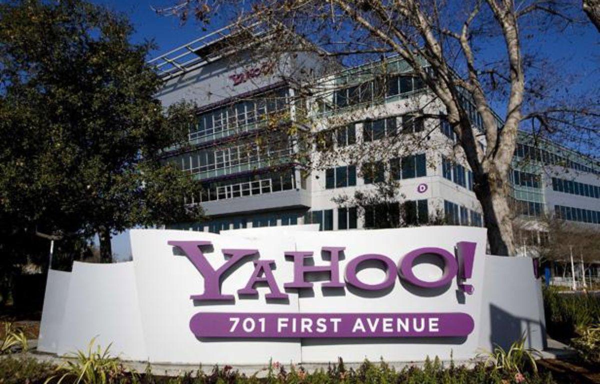Le siège de Yahoo! à Sunnyvale en Californie. – TRIPPLAAR KRISTOFFER/SIPA