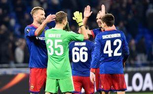 Le gardien russe Igor Akinfeev et le CSKA Moscou étaient venus se qualifier pour les quarts de finale de Ligue Europa, le 15 mars au Parc OL.