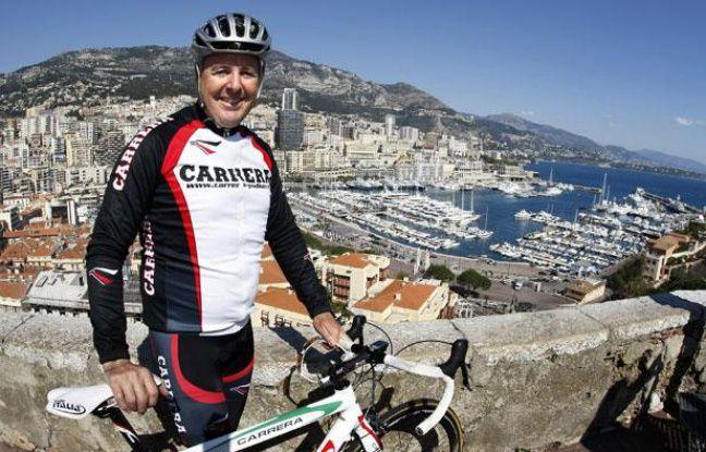 L'Irlandais Stephen Roche à Monte Carlo, en 2009.