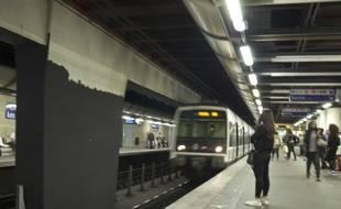 Un RER A à la station Châtelet (illustration).