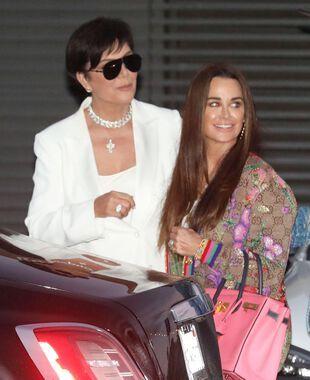 Kris Jenner et Kyle Richards, le 6 juin, à Malibu.