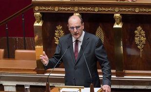 Jean Castex lors de son discours devant l'Assemblée nationale mercredi 15 juillet 2020.