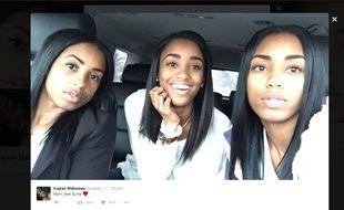 Des triplés? Non, une mère et ses jumelles
