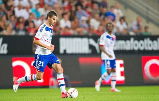 Le Lyonnais Maxime Gonalons, le 8 août 2012
