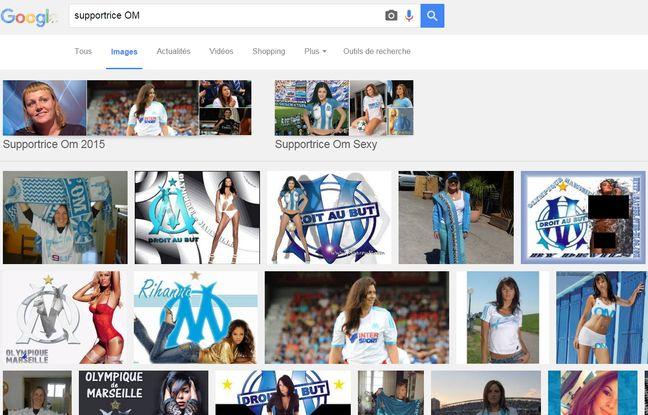 Résultats de la requête Google Images