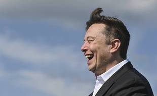 Elon Musk, le milliardaire patron des entreprises Tesla et SpaceX, le 3 septembre 2020 en Allemagne.
