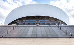Le stade Vélodrome de Marseille vu de l'extérieur.