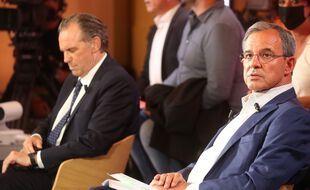 Renaud Muselier et Thierry Mariani s'affrontent au deuxième tour des élections régionales en Paca