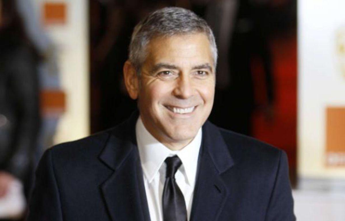 George Clooney aux Bafta 2012, les César britanniques. – Alastair Grant/AP/SIPA