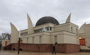 La grande mosquée de Strasbourg, janvier 2015. (Illustration)