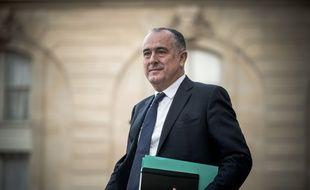 Didier Guillaume à l'Elysée, le 7 novembre 2019.