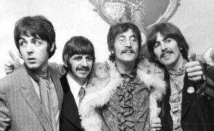 Les Beatles (de gauche à droite: Paul McCartney, Ringo Starr, John Lennon et George Harrison)