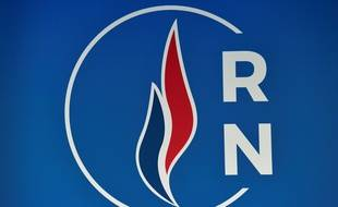 Logo du Rassemblement national (RN).