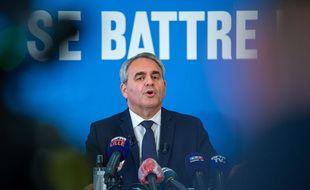 Xavier Bertrand, président sortant des Hauts-de-France.