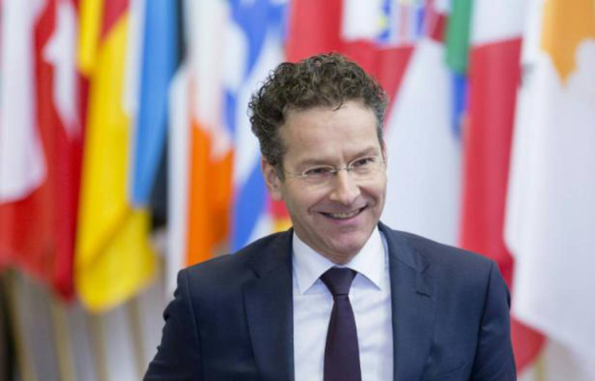 Le président de l'Eurogroupe Jeroen Dijsselbloem à Bruxelles le 11 février 2016 – THIERRY MONASSE AFP