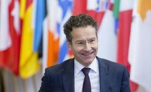 Le président de l'Eurogroupe Jeroen Dijsselbloem à Bruxelles le 11 février 2016