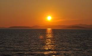 La mer Méditerranée chauffe