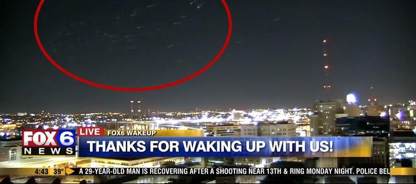Mais que sont ces lumières mystérieuses apparues dans le ciel de Milwaukee?