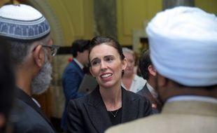 Jacinda Ardern rencontre la communauté musulmane, le 19 mars 2019.