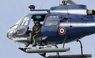 Illustration d'un hélicoptère de la gendarmerie
