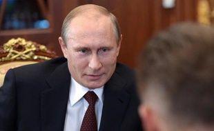 Le président russe Vladimir Poutine, le 17 septembre 2014 à Moscou