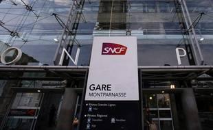 Illustration de la gare Montparnasse à Paris.