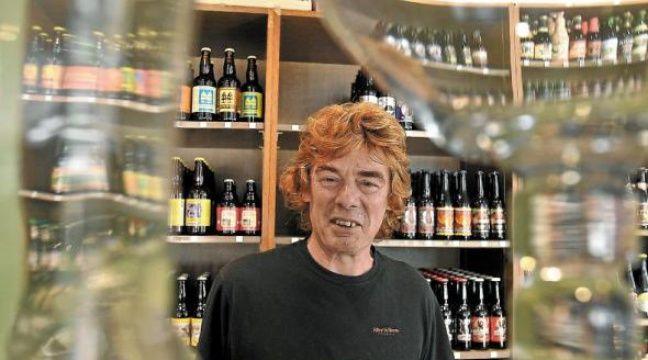Au Village de la bière, Alain Pesez constate un engouement pour les blanches. –  g. varela / 20minutes