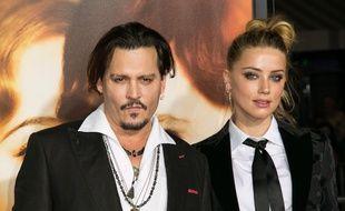 Les ex-époux Johnny Depp et Amber Heard