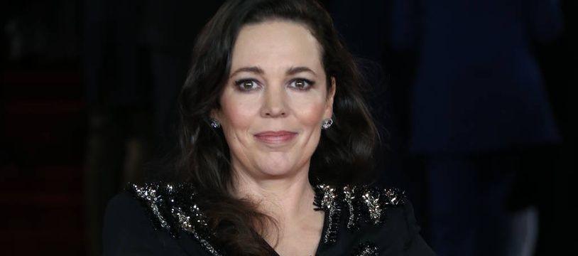 L'actrice Olivia Colman