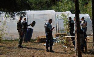 Les gendarmes ont effectué une saisie spectaculaire le 4 septembre 2018.